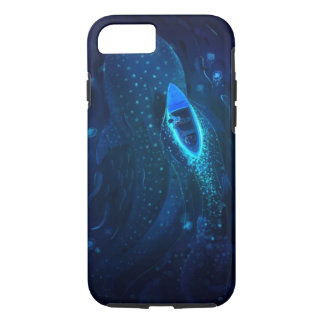Whale and Boat iPhone 7 Case