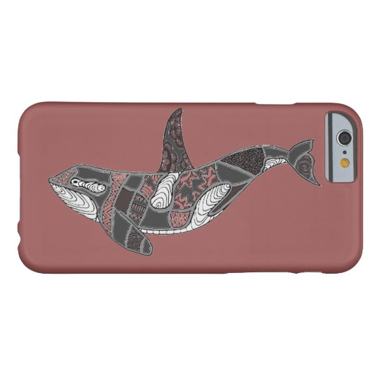 Whale Barely There iPhone 6 Case