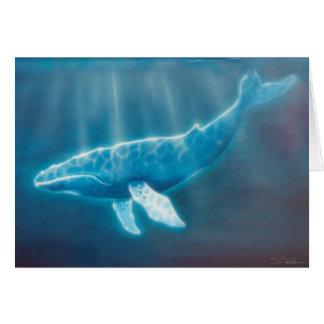 Whale Below Card