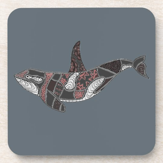 Whale Beverage Coasters