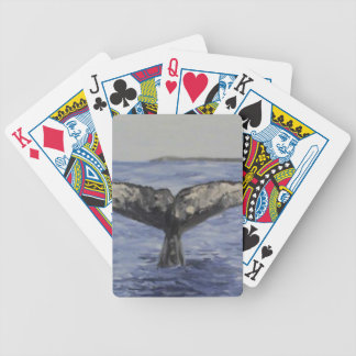 Whale Bicycle Playing Cards