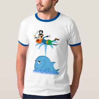 Whale & captain redbeard T-Shirt