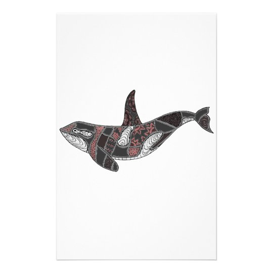 Whale Customised Stationery