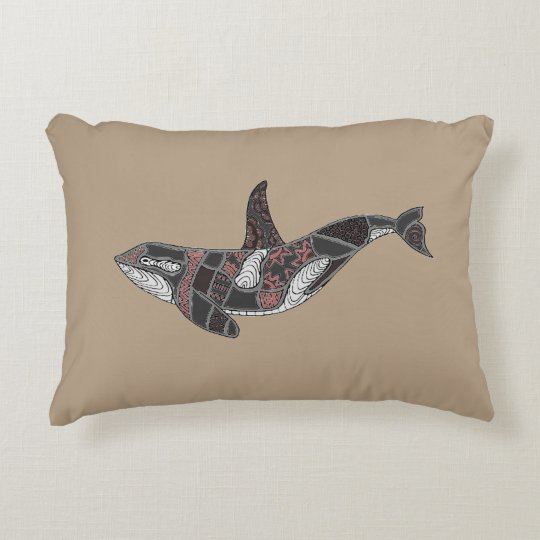 Whale Decorative Cushion