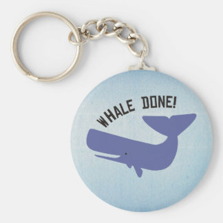 Whale Done Key Ring