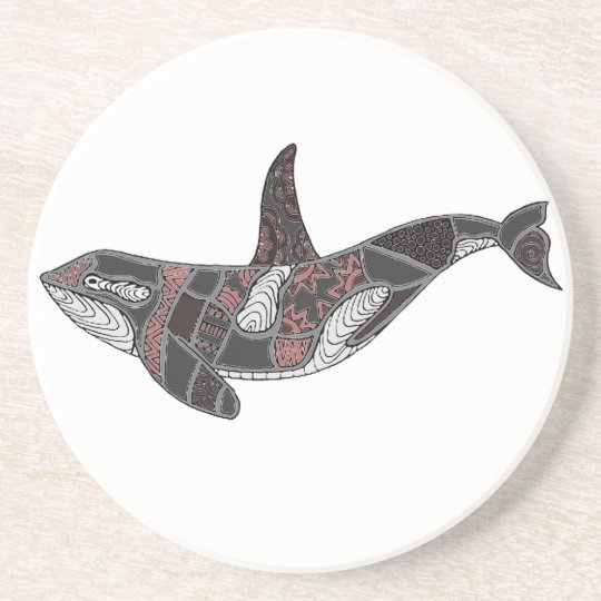Whale Drink Coaster