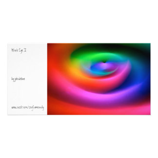Whale Eye II Custom Photo Card