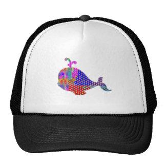 WHALE Fish Sea Creature Cap