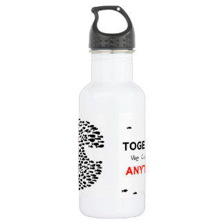 whale for a cause! 532 ml water bottle