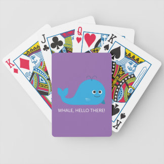 Whale, Hello There! Bicycle Playing Cards