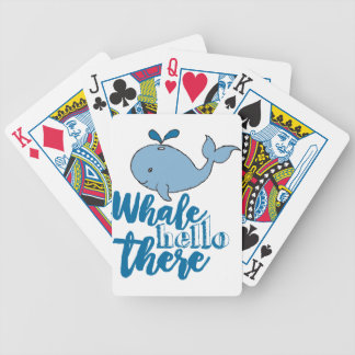 Whale Hello There Poker Deck