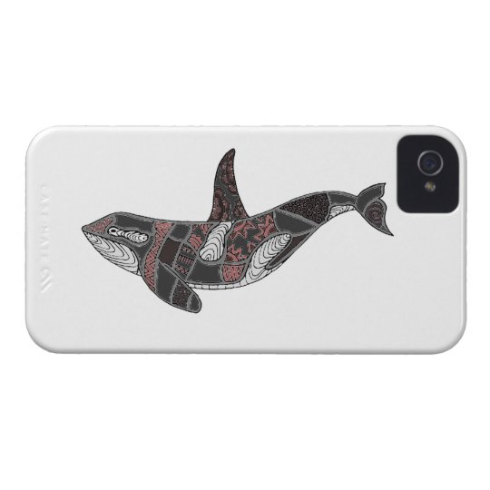 Whale iPhone 4 Cases