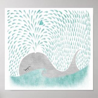 Whale Love Print