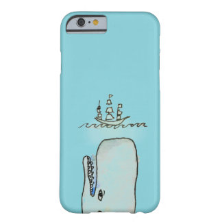Whale Meet Boat phone case