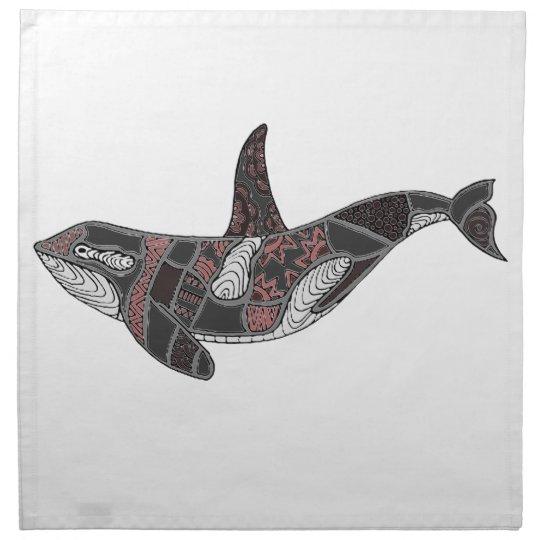 Whale Napkin