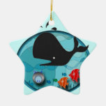 Whale of a Holiday Christmas Ornaments