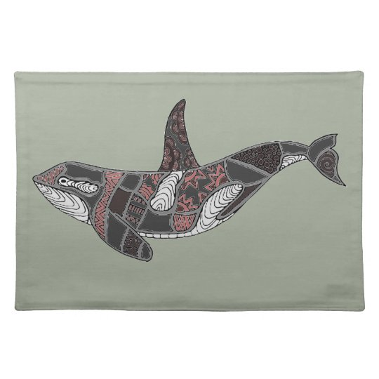 Whale Placemat