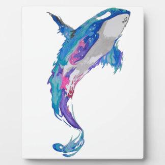 whale plaque