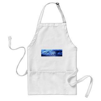 Whale Pod Blue Ocean Standard Apron