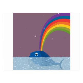 Whale Postcard
