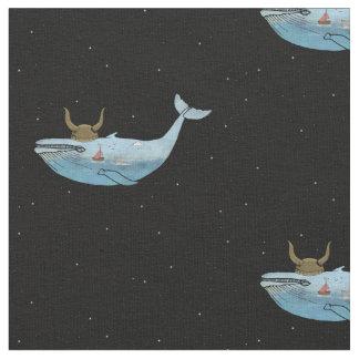 Whale Print Fabric