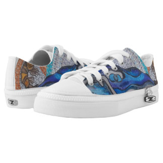 Whale Printed Shoes