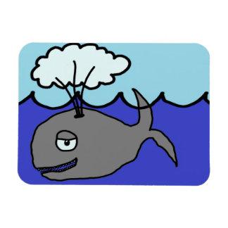 Whale Rectangular Photo Magnet