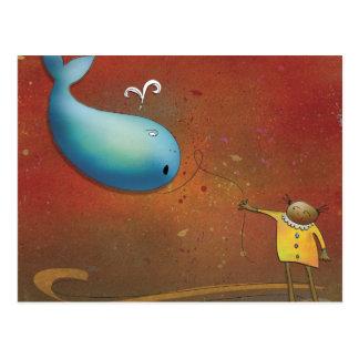 Whale Rider - New Zealand Postcard