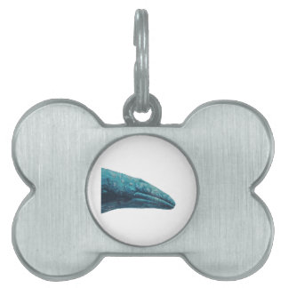Whale Song Pet Name Tag