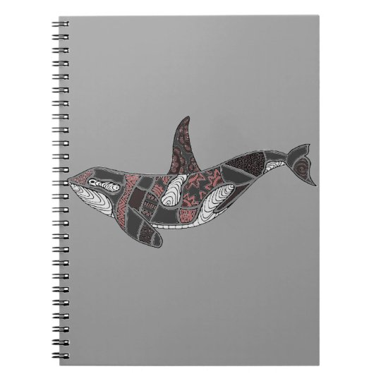 Whale Spiral Notebooks