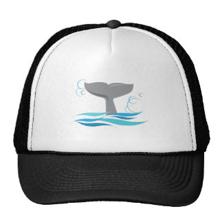 Whale Tail Trucker Hat