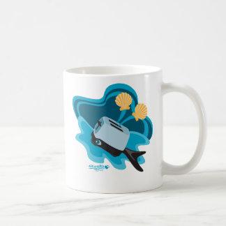 Whale Toaster Basic White Mug