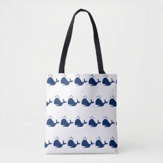 """Whale"" Tote Bag"
