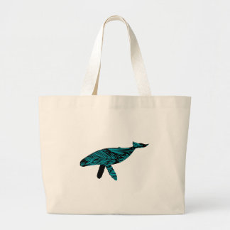 Whale Watch Large Tote Bag