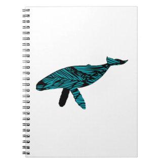 Whale Watch Spiral Notebook