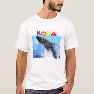 whale watching, Kona, Hawaii T-Shirt