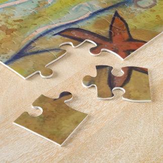 Whale Watercolor Fine Art Puzzle