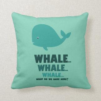 Whale, Whale, Whale... Cushion