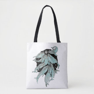 whale,whalenavigation,whales,lovewhales,moon,space tote bag