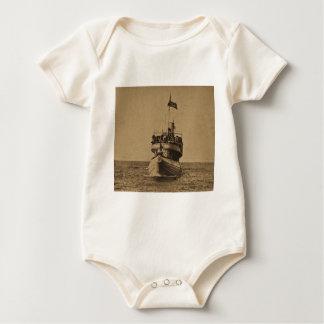 Whaleback Passenger Steamer Christopher Columbus Baby Bodysuit