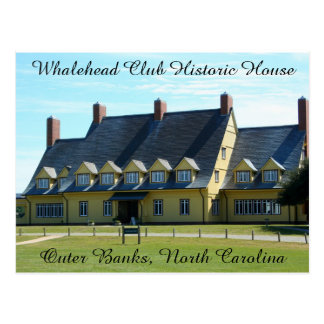 Whalehead Club Postcard
