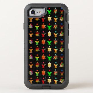 """Whales and Ninjas/Kimonogram2 "" OtterBox Defender iPhone 8/7 Case"