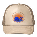 Whales Are Like People Products Mesh Hat