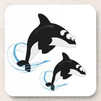 whales coaster
