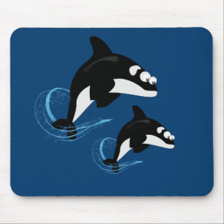 whales mouse pad