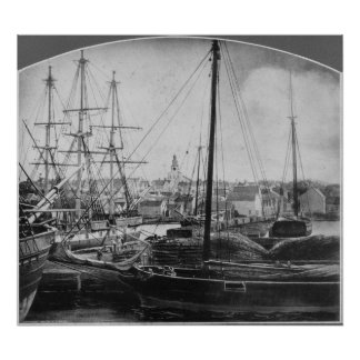Whaling Port, New Bedford Poster