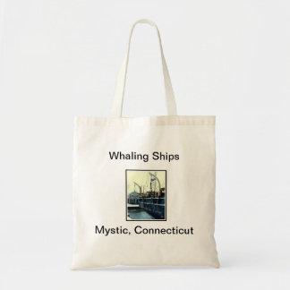 Whaling Ships Budget Tote Bag