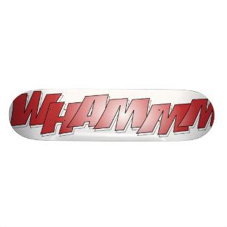 WHAMMM board 18.1 Cm Old School Skateboard Deck