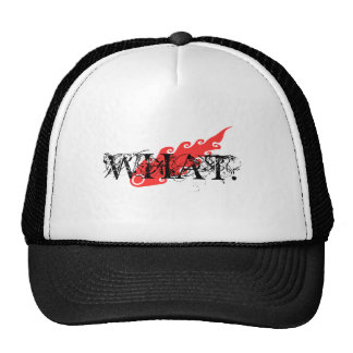 WHAT MESH HATS