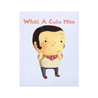 What a Cute Man... Canvas Prints